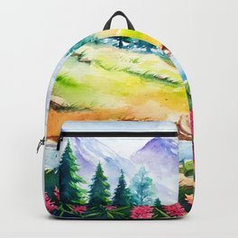 Spring Scenery #3 Backpack