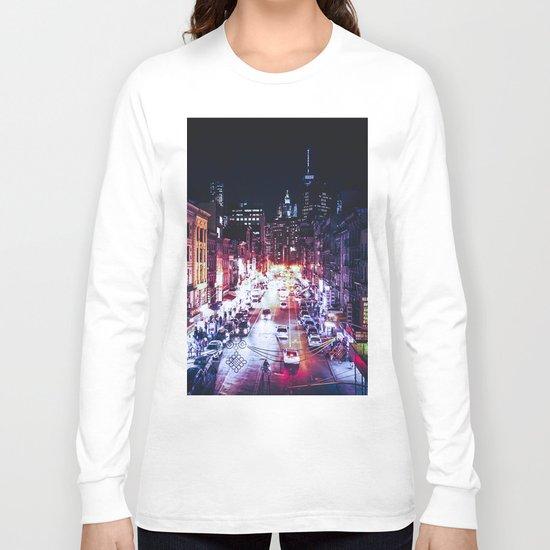 NYC Night Long Sleeve T-shirt