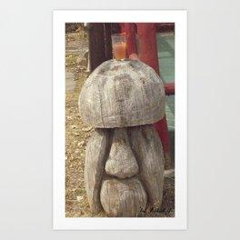 the alcoholic mushroom company (2) #18 Art Print