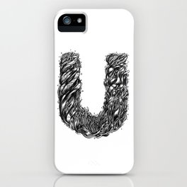The Illustrated U iPhone Case