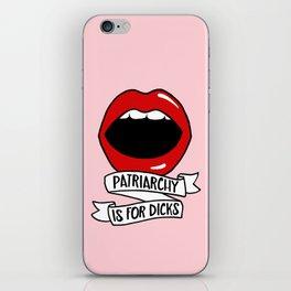Patriarchy iPhone Skin