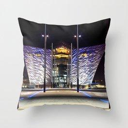 Belfast Maritme Quarters Throw Pillow