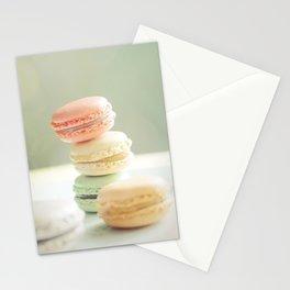 Pretty Macarons Stationery Cards