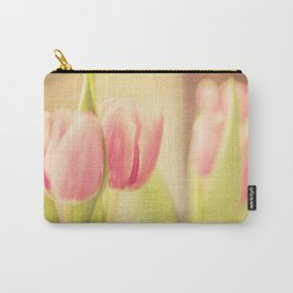 Vintage Tulips Carry-All Pouch