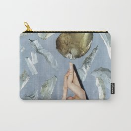 White Lies Carry-All Pouch