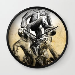 Suckcess: Rise above the rest Wall Clock