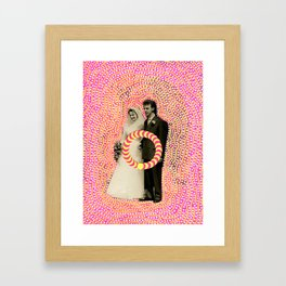 Run Bride Run Framed Art Print