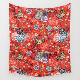 Cranes´ Flight Wall Tapestry