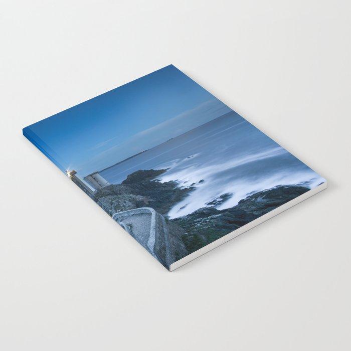 Lighthouse blue Notebook