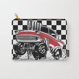 1957 CHEVY CLASSIC HOT ROD Carry-All Pouch