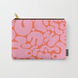 millennial pink blobs Carry-All Pouch