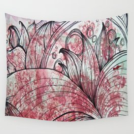 Abstract Flower 2 Wall Tapestry