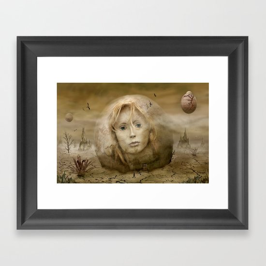 Vanja Framed Art Print