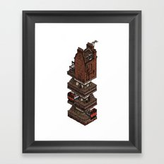 In my basement... Framed Art Print