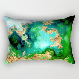 100 Starry Nebulas in Space 011 (Square) Rectangular Pillow
