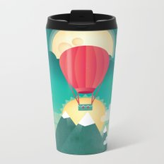 Sun, Moon & Balloon Metal Travel Mug