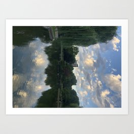 The Upside-down  Art Print