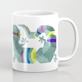 Polygonal gecko Coffee Mug
