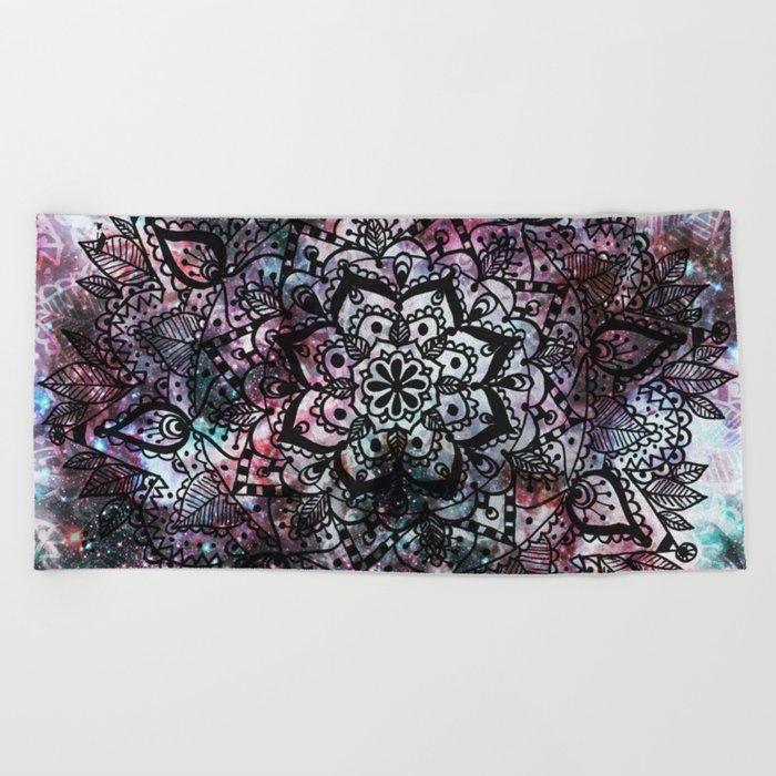 Intergalactic Mandala Beach Towel