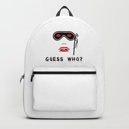 Halloween Guess Who Vampire Beauty Backpack