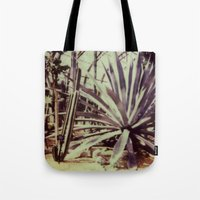 garfield Tote Bags featuring Garfield Conservatory  by Misha Ashton-Moore