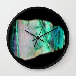 Chrysocolla Wall Clock