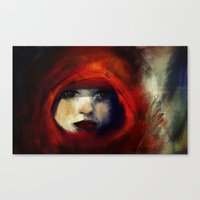 child Canvas Prints featuring Child by Zu Orzu