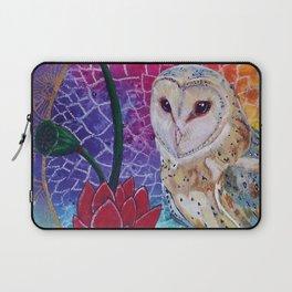 Lakshmi's Vahana ( Bird Whisperer Project Owl ) Laptop Sleeve