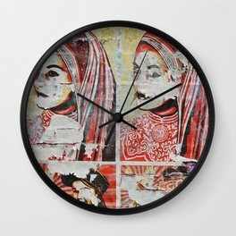 Wall Flower (Expanded) Wall Clock
