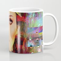 wonder Mugs featuring Wonder by Joe Ganech