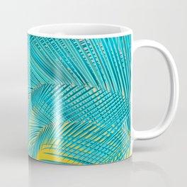 Summer Palm Leaves Coffee Mug