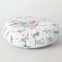 Dachshunds love Floor Pillow