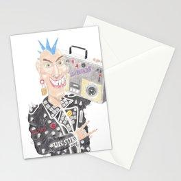 Punk Rocker Stationery Cards