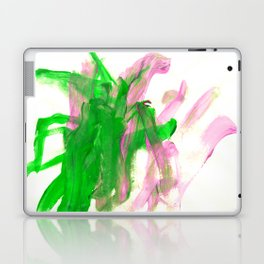 First paint abstract by Keira Laptop & iPad Skin