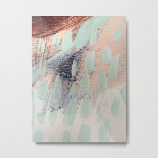 blue palette Metal Print