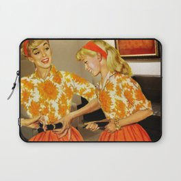 Daughter and Her Narcissistic Mother Laptop Sleeve