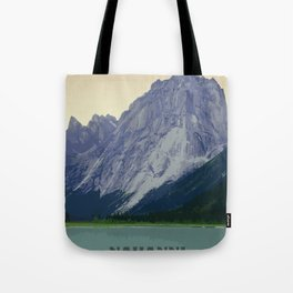 Nahanni National Park Poster Tote Bag