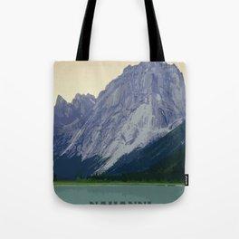Nahanni National Park Poster Tote Bag