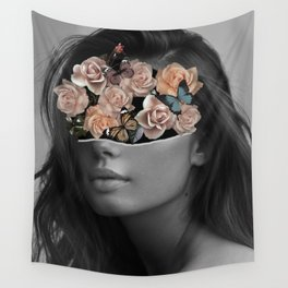 Mystical nature's portrait II Wall Tapestry