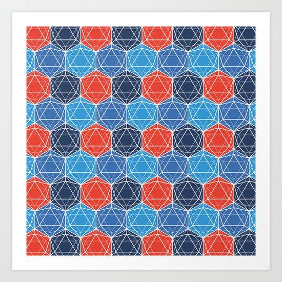 BP 80 Hexagon Art Print