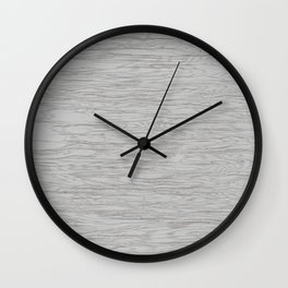 Grunge white grey panel Wall Clock