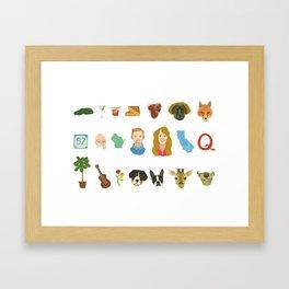 For Juliana Framed Art Print