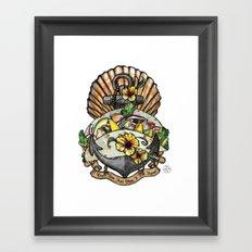 Taco Bout Love Framed Art Print
