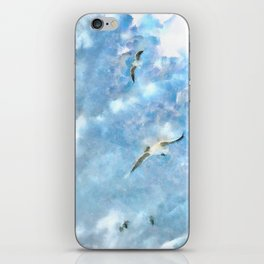The Chasers - Seagulls In Flight iPhone Skin