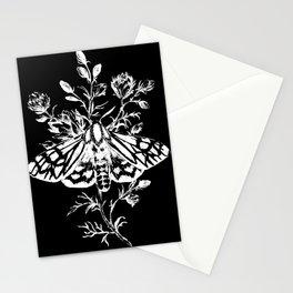 butterfly black Stationery Cards