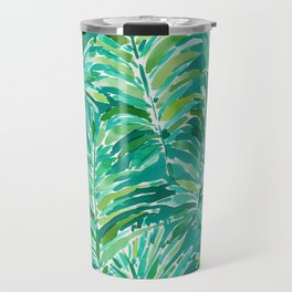 WILD JUNGLE Green Tropical Palm Travel Mug