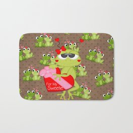 For My Sweetie Bath Mat