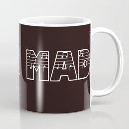 MUSIC MAD Coffee Mug