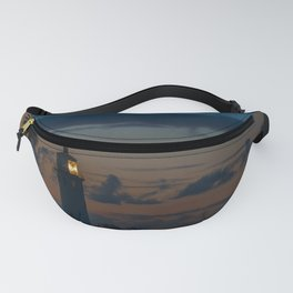 Point Vicente Lighthouse at Dawn Fanny Pack