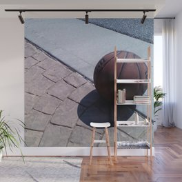Basketball at Rest Wall Mural